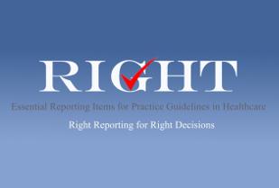 RIGHT statement: strumento per il reporting delle linee guida per la pratica clinica