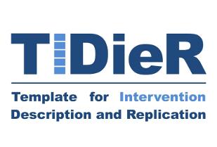 Migliorare il reporting degli interventi sanitari: la checklist TIDieR (Template for Intervention Description and Replication)